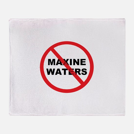 Anti Maxine Waters Throw Blanket