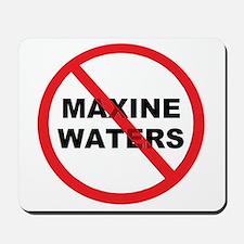 Anti Maxine Waters Mousepad