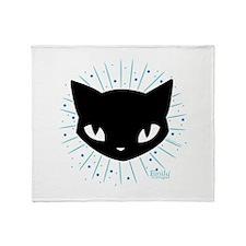 Cathead Mystery Burst Throw Blanket