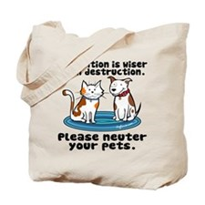 Prevention is Wiser Tote Bag