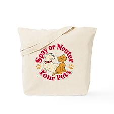 Spay/Neuter Circle (Pets) Tote Bag