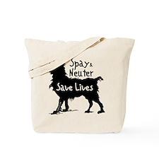 Save Lives (Dog) Tote Bag