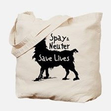 Save Lives (Dog) Tote Bag