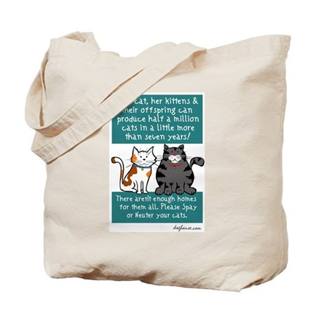 Half a Million Cats - Spay Ne Tote Bag