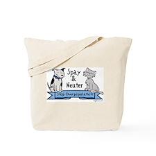 Stop Overpopulation Tote Bag