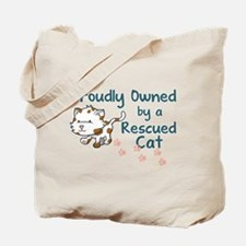 Proudly Owned (Cat) Tote Bag