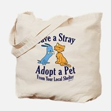 Save a Stray Tote Bag