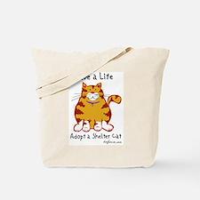 Shelter Cat Tote Bag