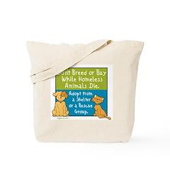 Adopt Shelter Rescue Tote Bag