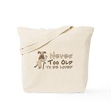 Senior Dog Adoption Tote Bag