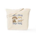 Save a Stray Tote Bag