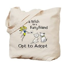 Grant Wish - Opt to Adopt Tote Bag