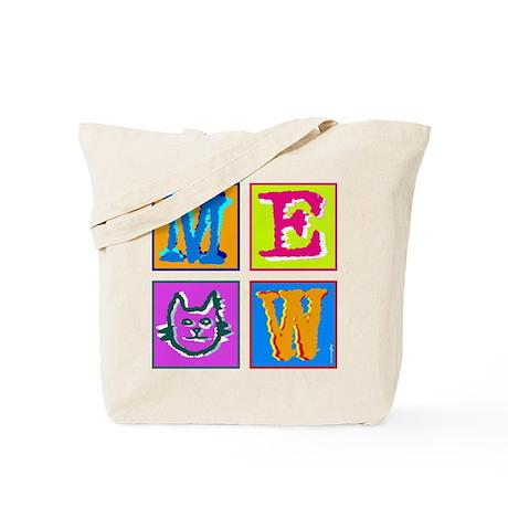 Warhol Inspired Meow Tote Bag