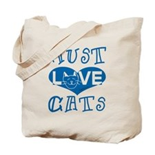 Must Love Cats Tote Bag