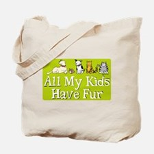 All My Fur Kids Tote Bag