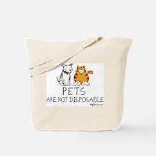 Non-Disposable Pets Tote Bag
