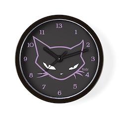 Cathead Neechee Wall Clock