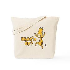 What's Up Giraffe Tote Bag