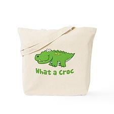 What a Croc Tote Bag
