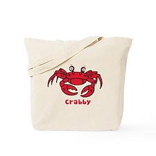 Crabby Crab Tote Bag
