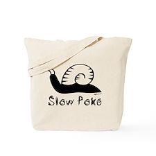 Slow Poke Snail Tote Bag