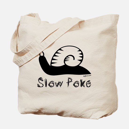 Slow Poke Snail Tote Bag