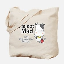Disappointed Cow Tote Bag