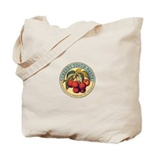 Cherry Tooth Paste Tote Bag