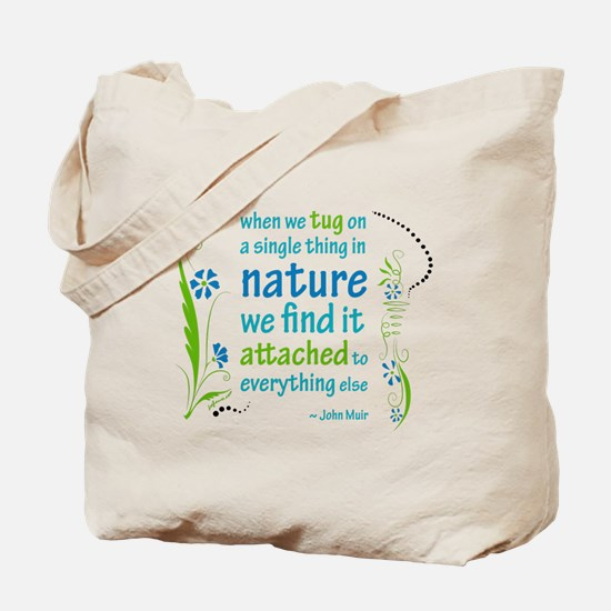 Nature Atttachment Tote Bag