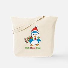 Bah Hum Bug Penguin Tote Bag