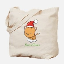 Cute Cat Christmas Tote Bag