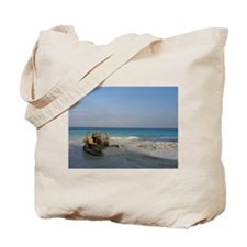 Bob Cat on the Beach Tote Bag