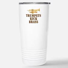 Trumpets Kick Brass Stainless Steel Travel Mug
