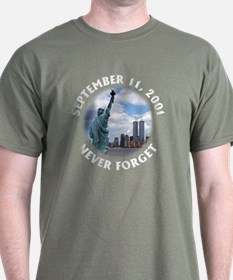 9/11 WTC Statue of Liberty T-Shirt