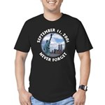 9/11 WTC Statue of Liberty Men's Fitted T-Shirt (d