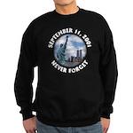 9/11 WTC Statue of Liberty Sweatshirt (dark)