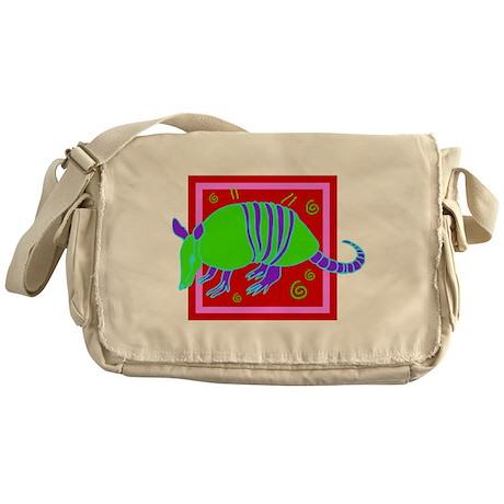 Armadillo Messenger Bag
