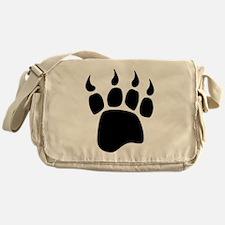 Bear paw Messenger Bag