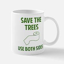 Use both sides. Mug