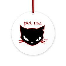 Sabbath - Pet Me Ornament (Round)