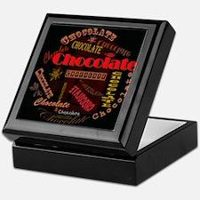 Chocolate Dark Keepsake Box