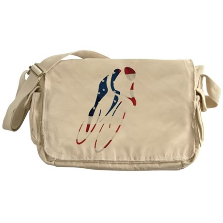 USA Cycling Messenger Bag