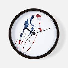 USA Cycling Wall Clock