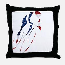 USA Cycling Throw Pillow