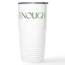I am Enough Green Travel Mug