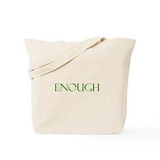 I am Enough Green Tote Bag