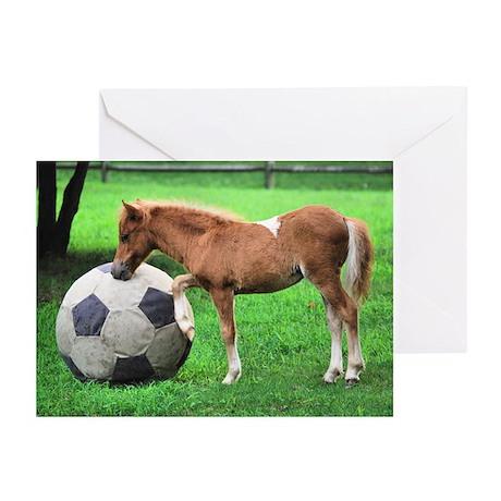 Kick the Ball Greeting Cards (Pk of 20)