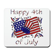 4th of July Celebration Mousepad