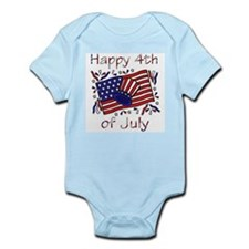4th of July Celebration Infant Creeper