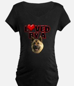 Loved by a Akita T-Shirt